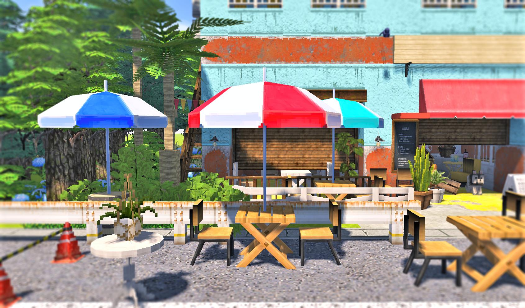 カフェ テーブルと傘2.png