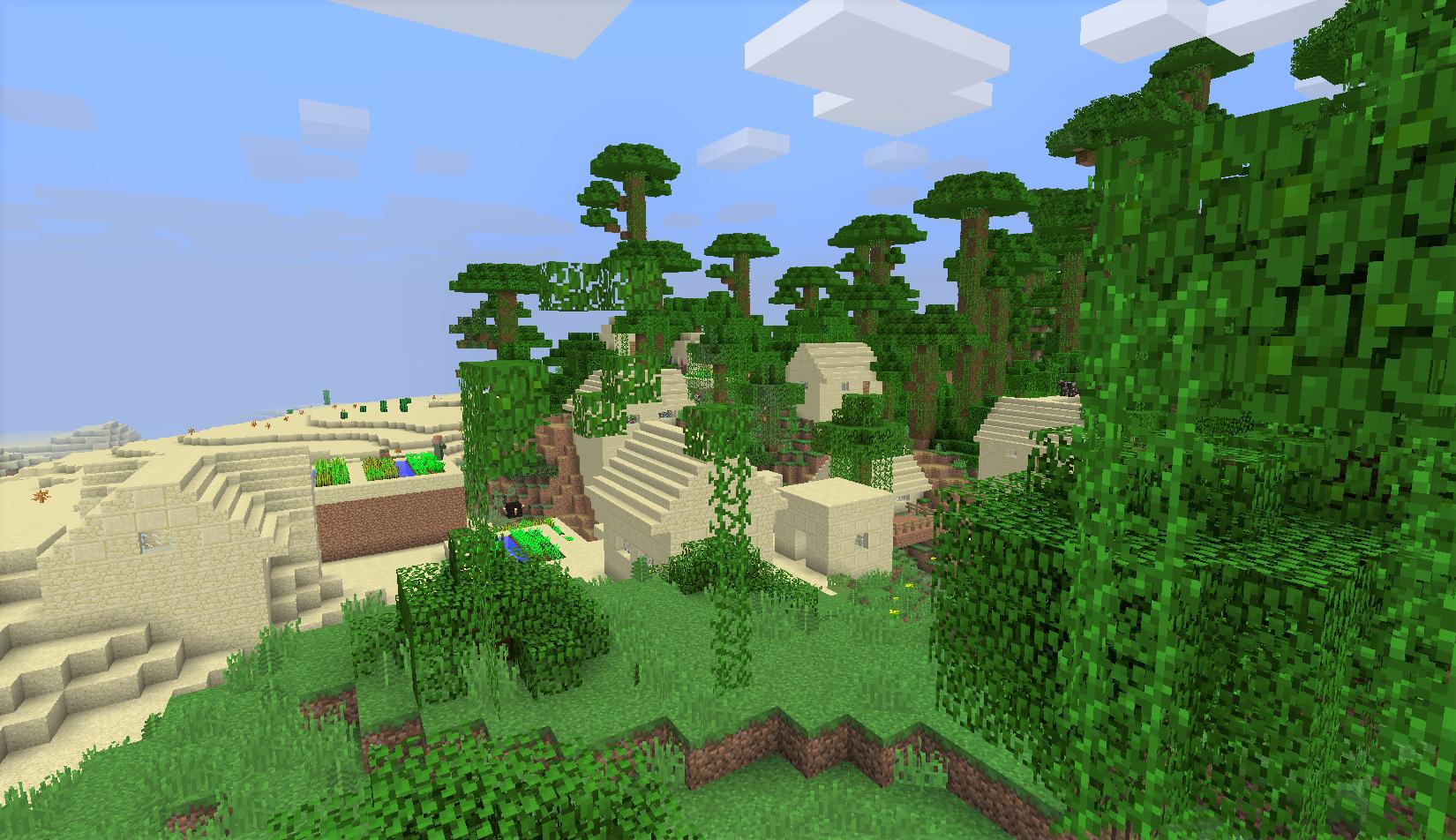 ジャングルの中の村.png