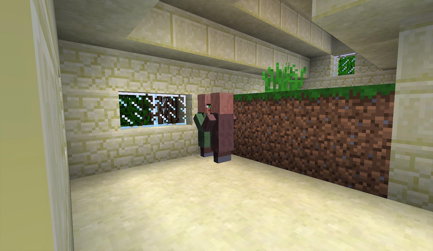 ドアの位置がおかしい家2 緑のお方 ここも人いた~.png