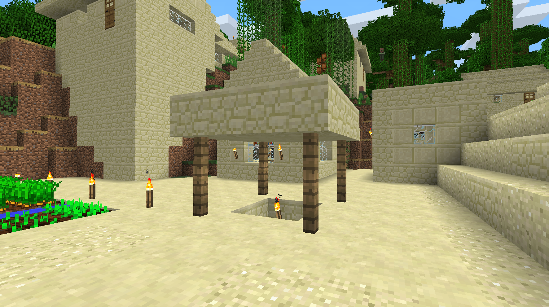 ドアの位置がおかしい家1 井戸がのっぺり.png