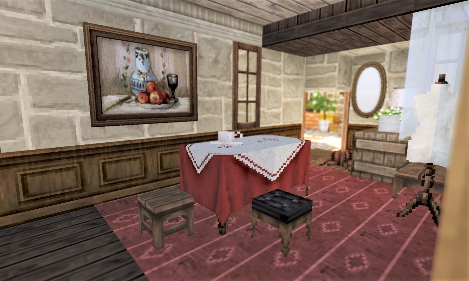 室内 赤いテーブル.png